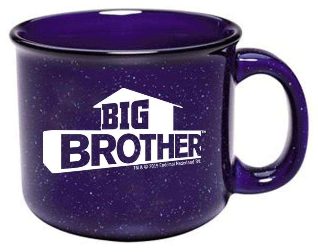 Discover CBS's logo campfire mug available on Amazon.