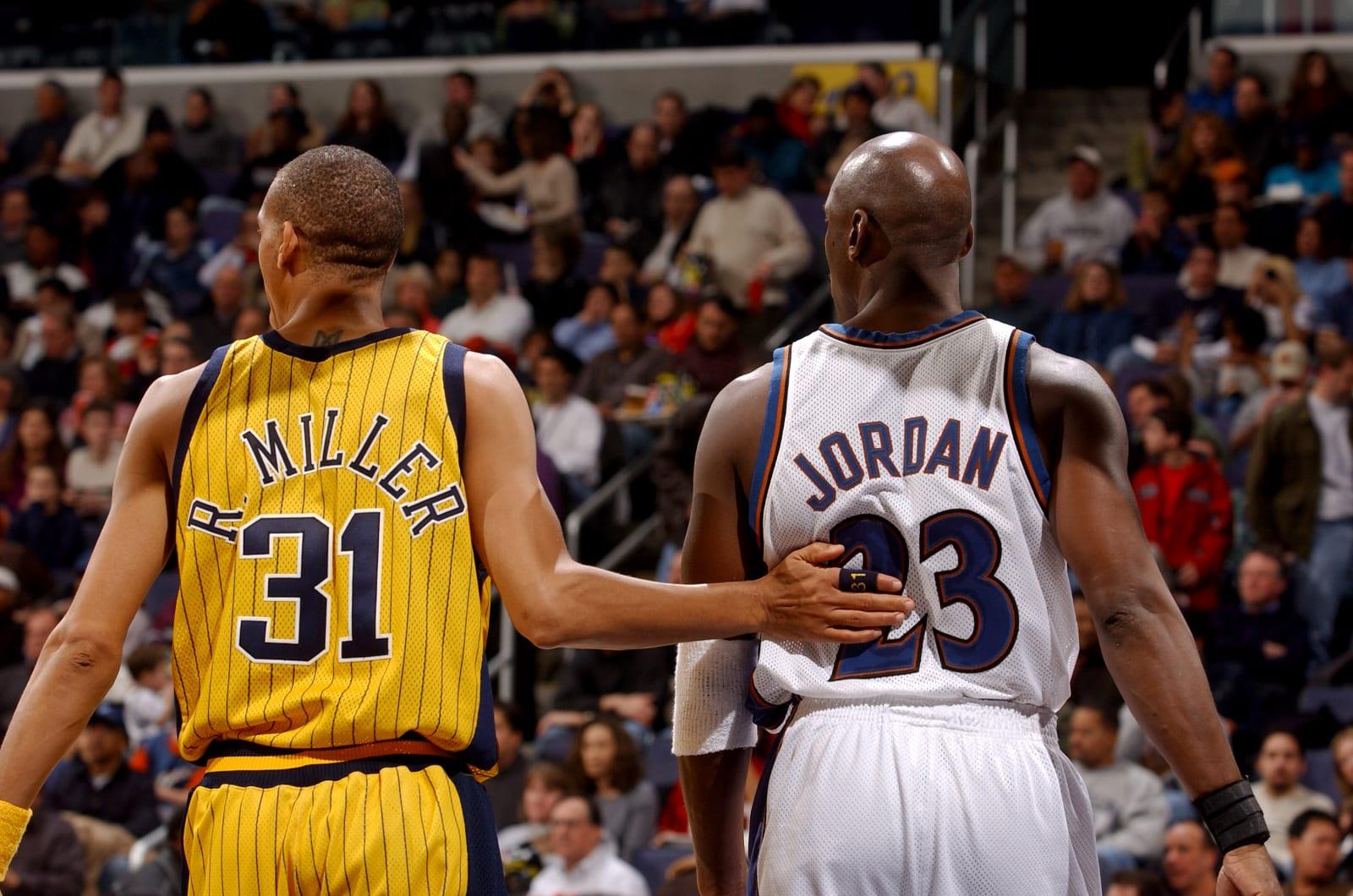 Michael Jordan, Reggie Miller, Chicago Bulls