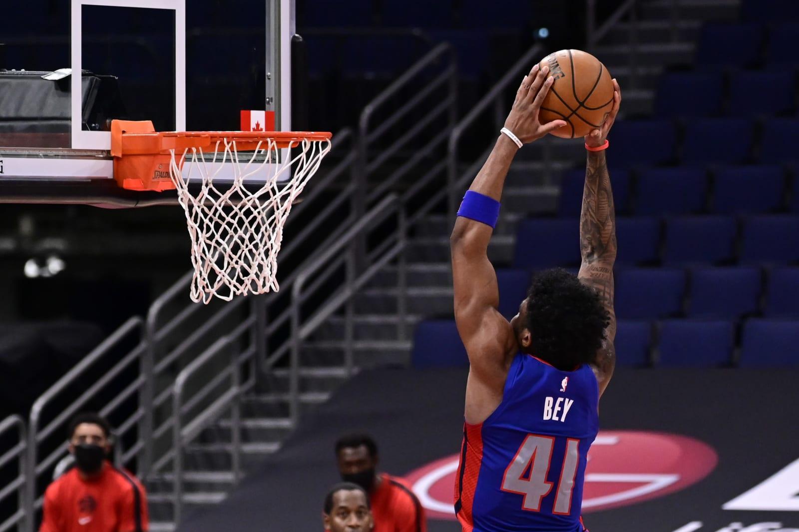 Detroit Pistons, Saddiq Bey
