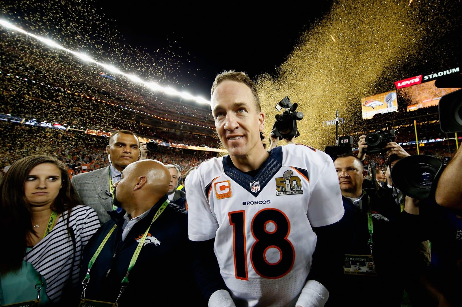 Peyton Manning, Denver Broncos, Hall of Fame