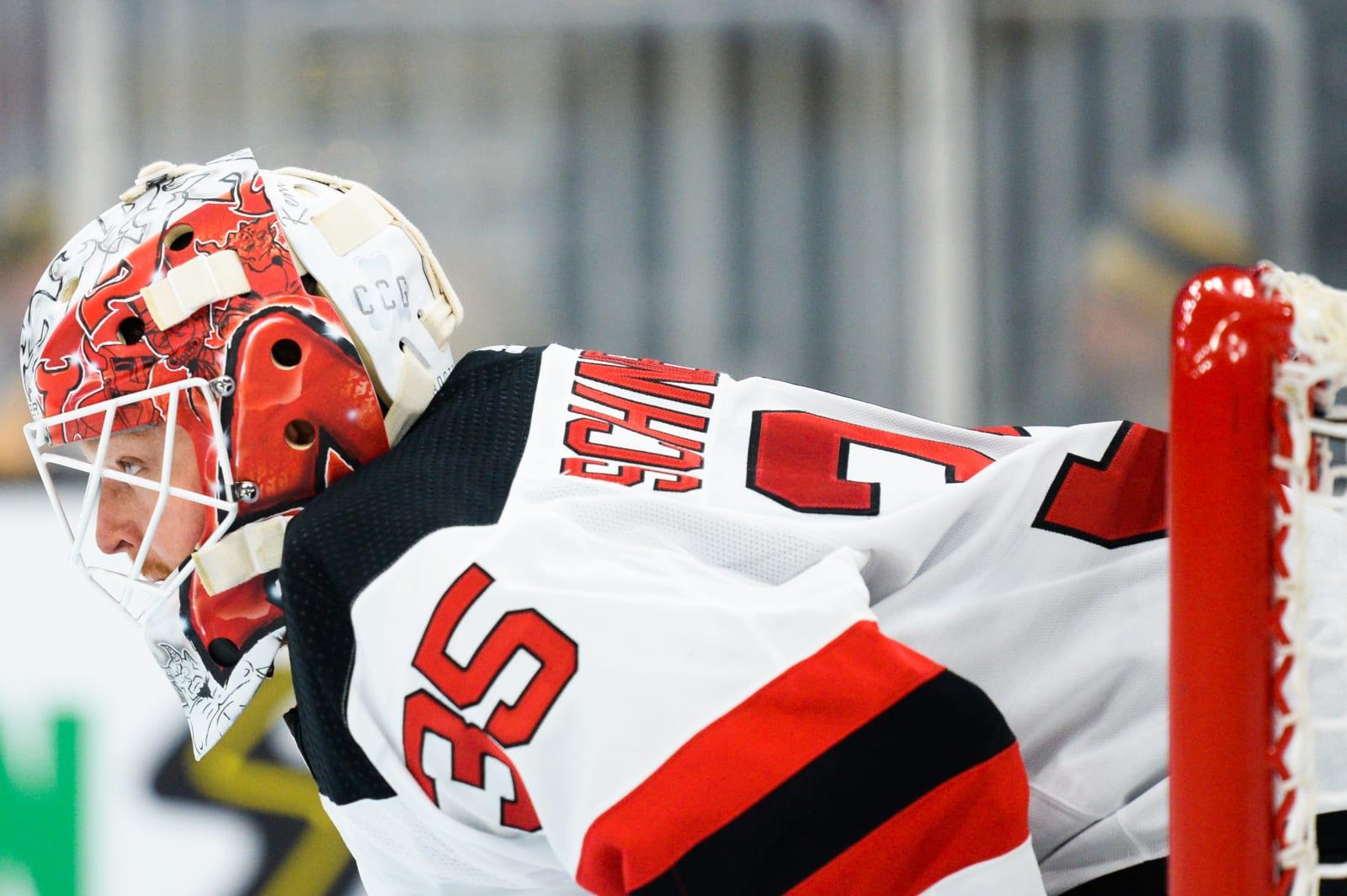 New Jersey Devils Cory Schneider