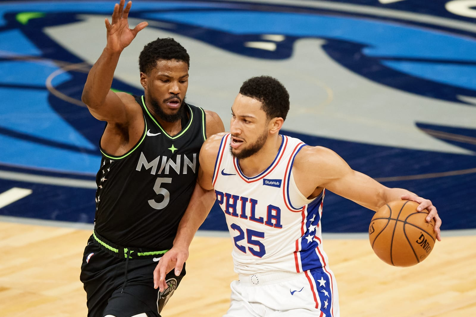 Philadelphia 76ers: Ben Simmons, Minnesota Timberwolves: Malik Beasley