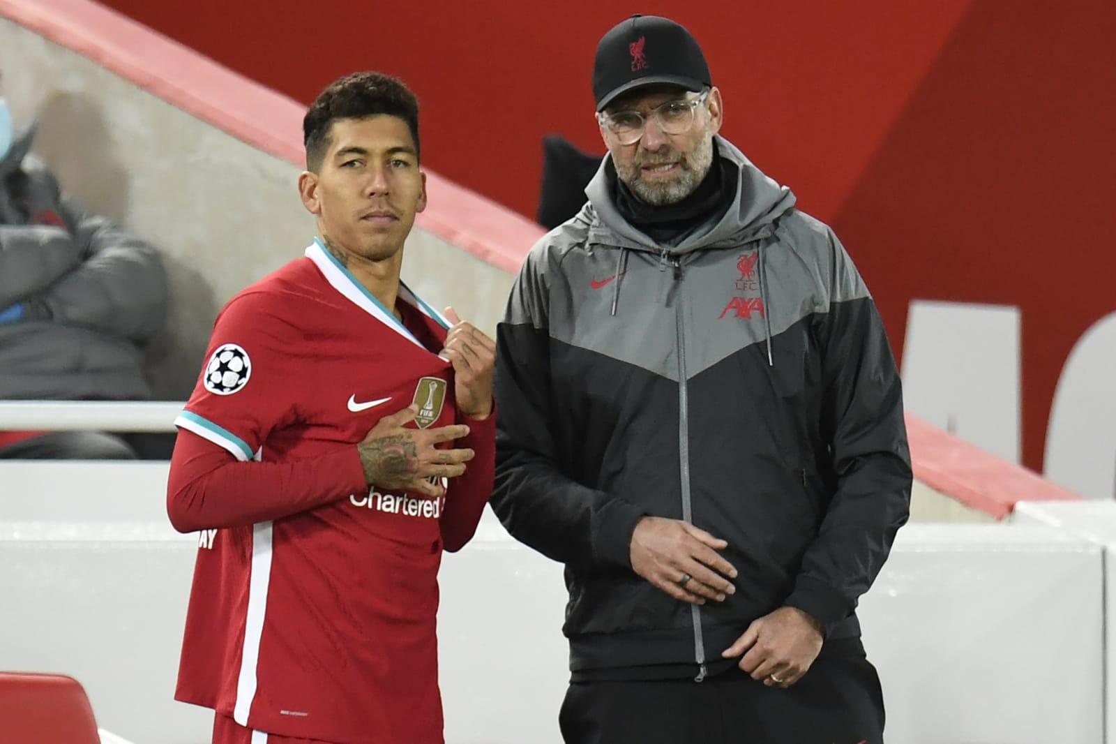 Liverpool, Jurgen Klopp, Roberto Firmino