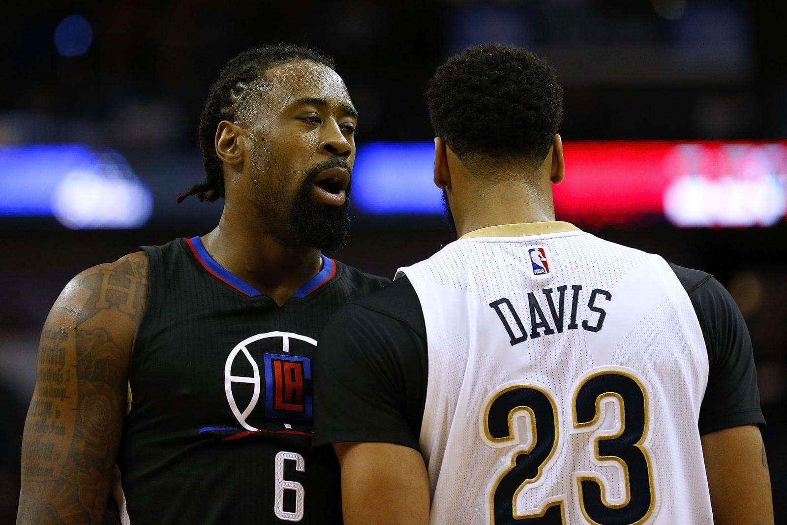 DeAndre Jordan, Los Angeles Clippers, Anthony Davis, New Orleans Pelicans