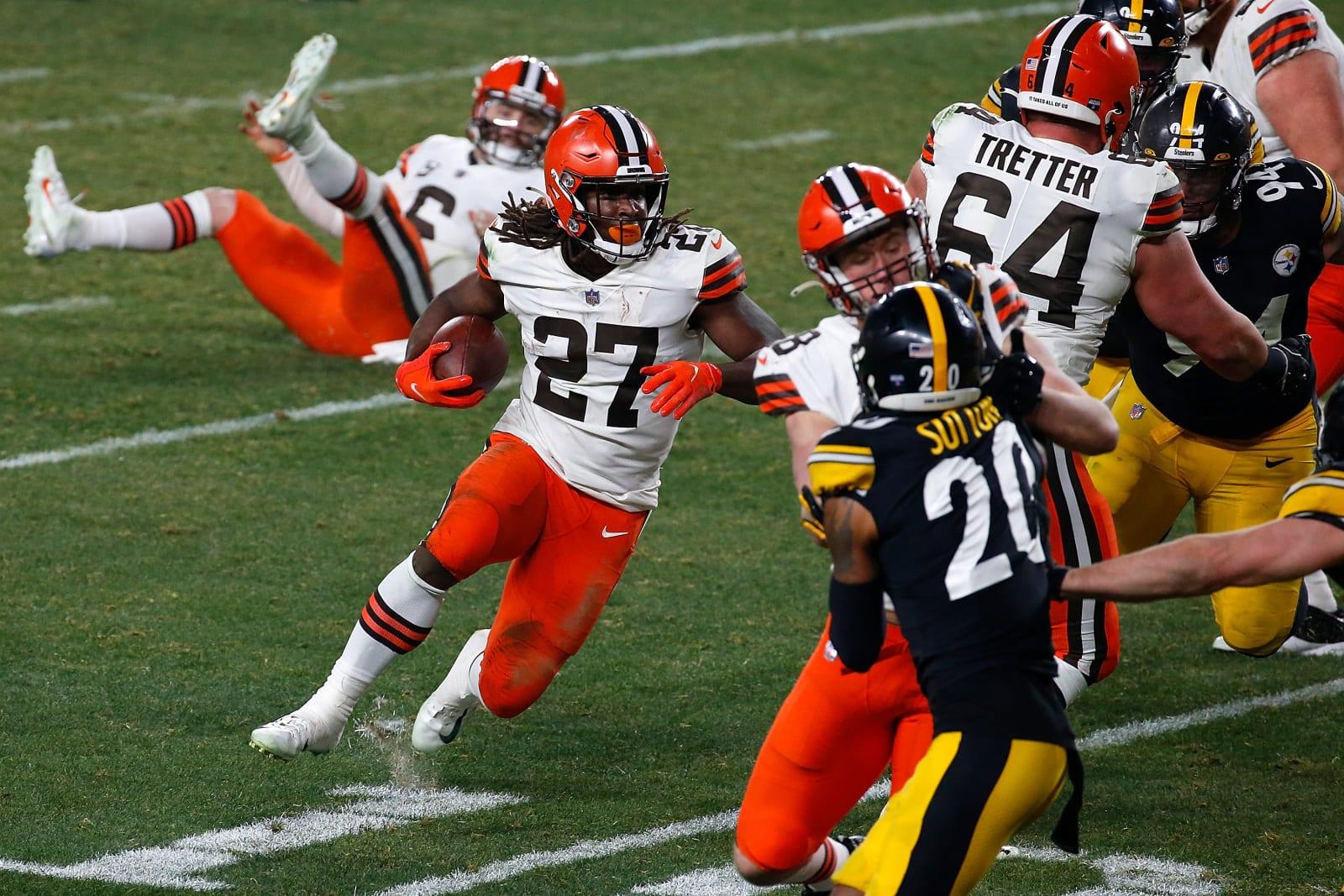 Kareem Hunt, Cleveland Browns