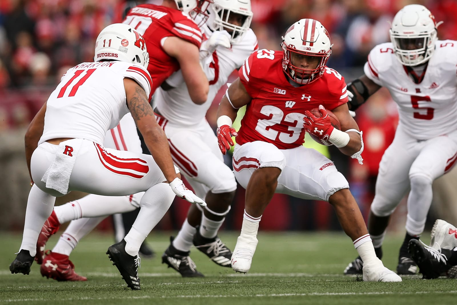 Wisconsin Football - Jonathan Taylor
