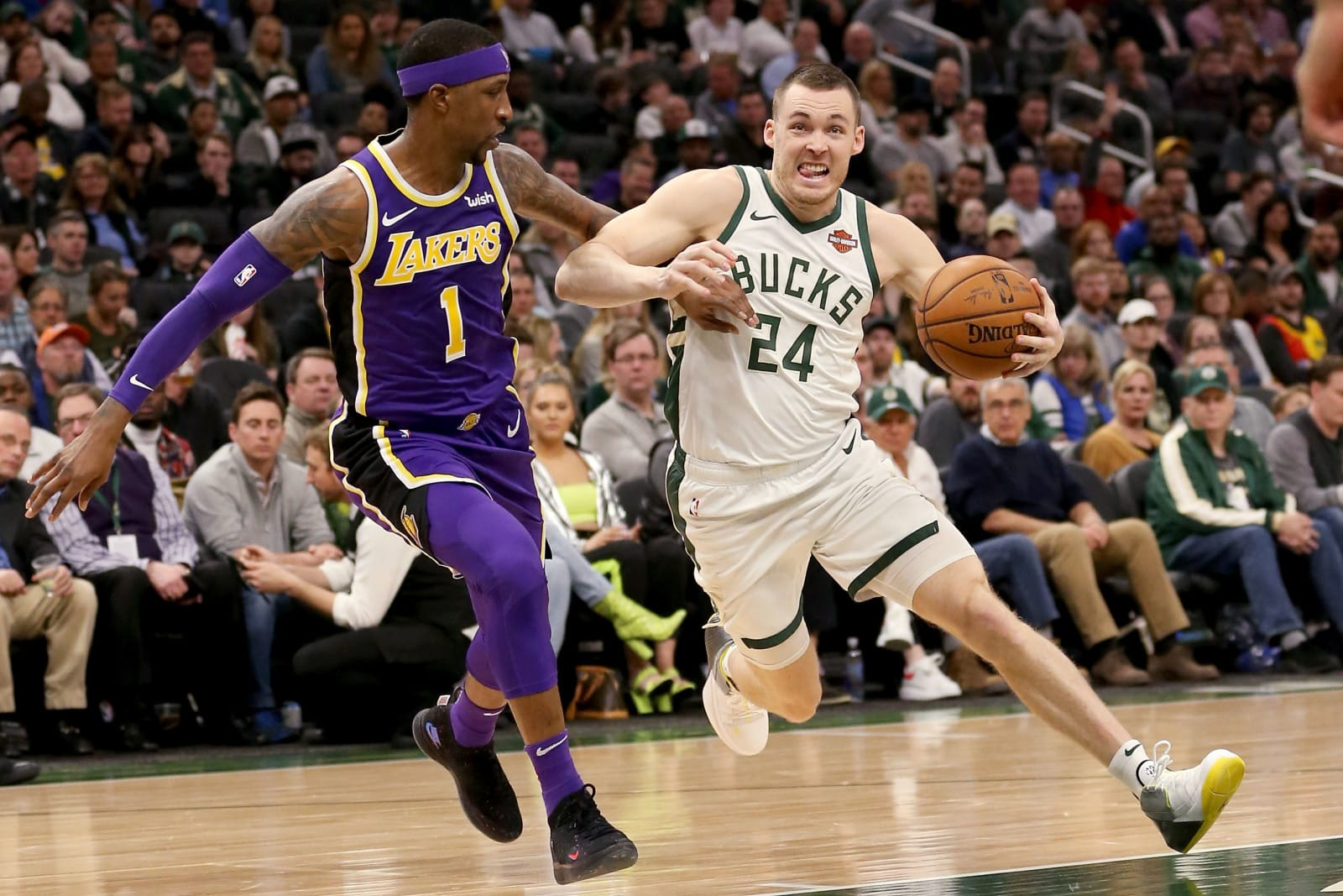 Milwaukee Bucks: Pat Connaughton, Los Angeles Lakers: Kentavious Caldwell-Pope