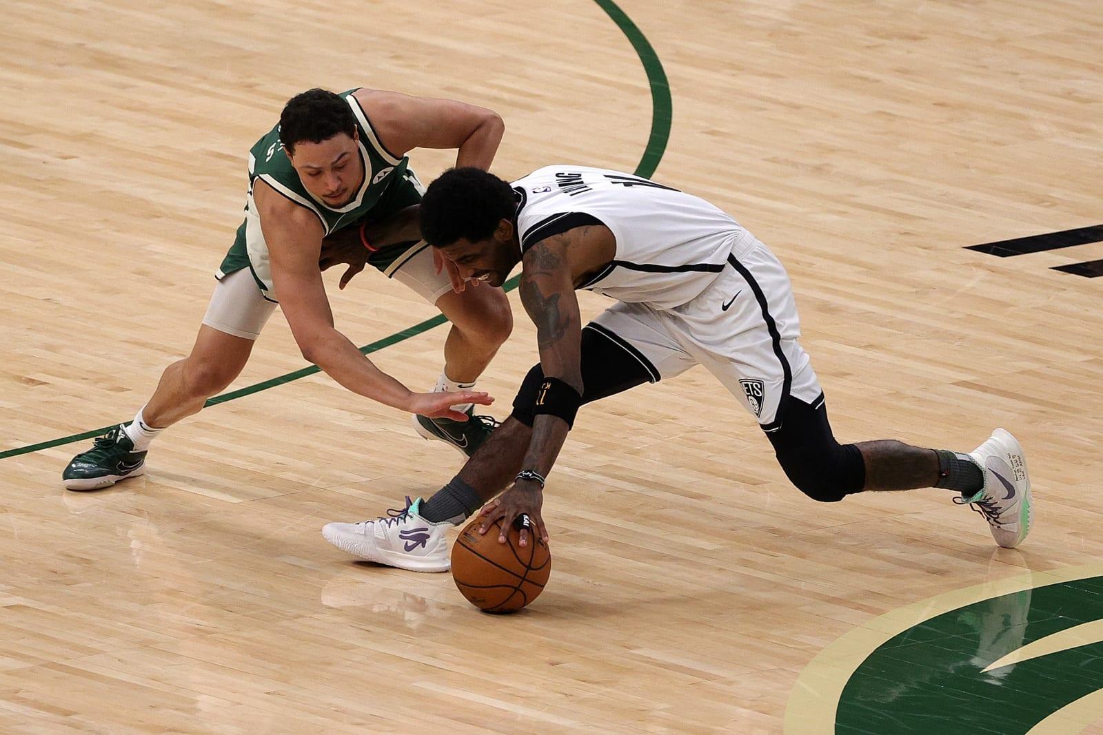 Milwaukee Bucks: Bryn Forbes, Brooklyn Nets: Kyrie Irving