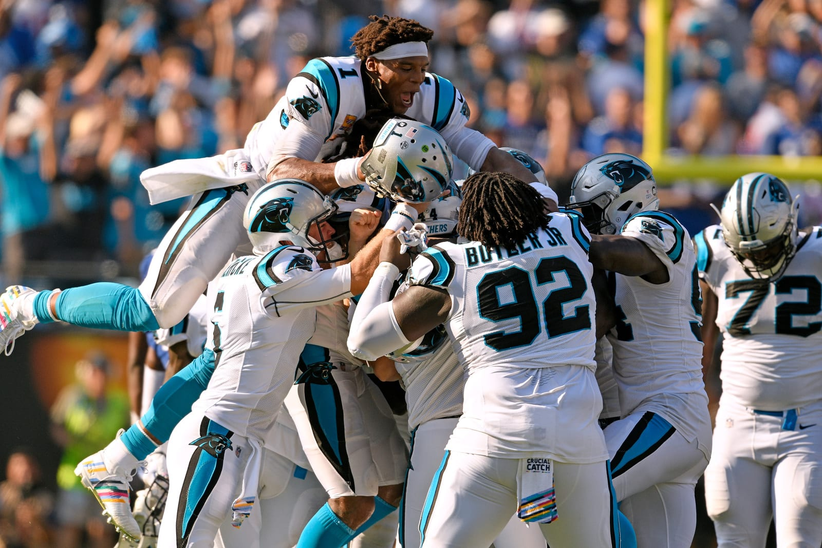 Carolina Panthers celebrations