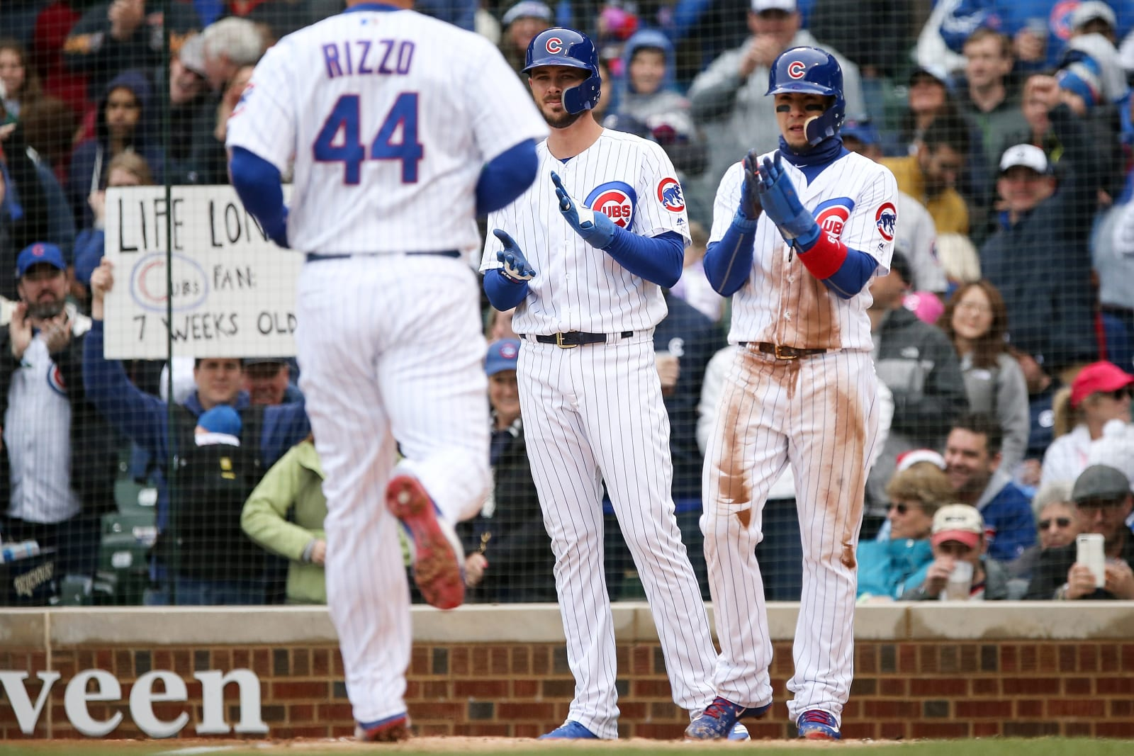 Chicago Cubs / Anthony Rizzo / Javier Baez / Kris Bryant