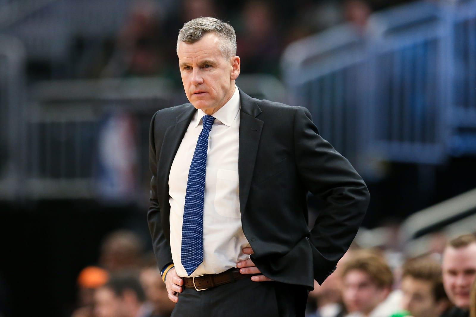 Chicago Bulls, Billy Donovan