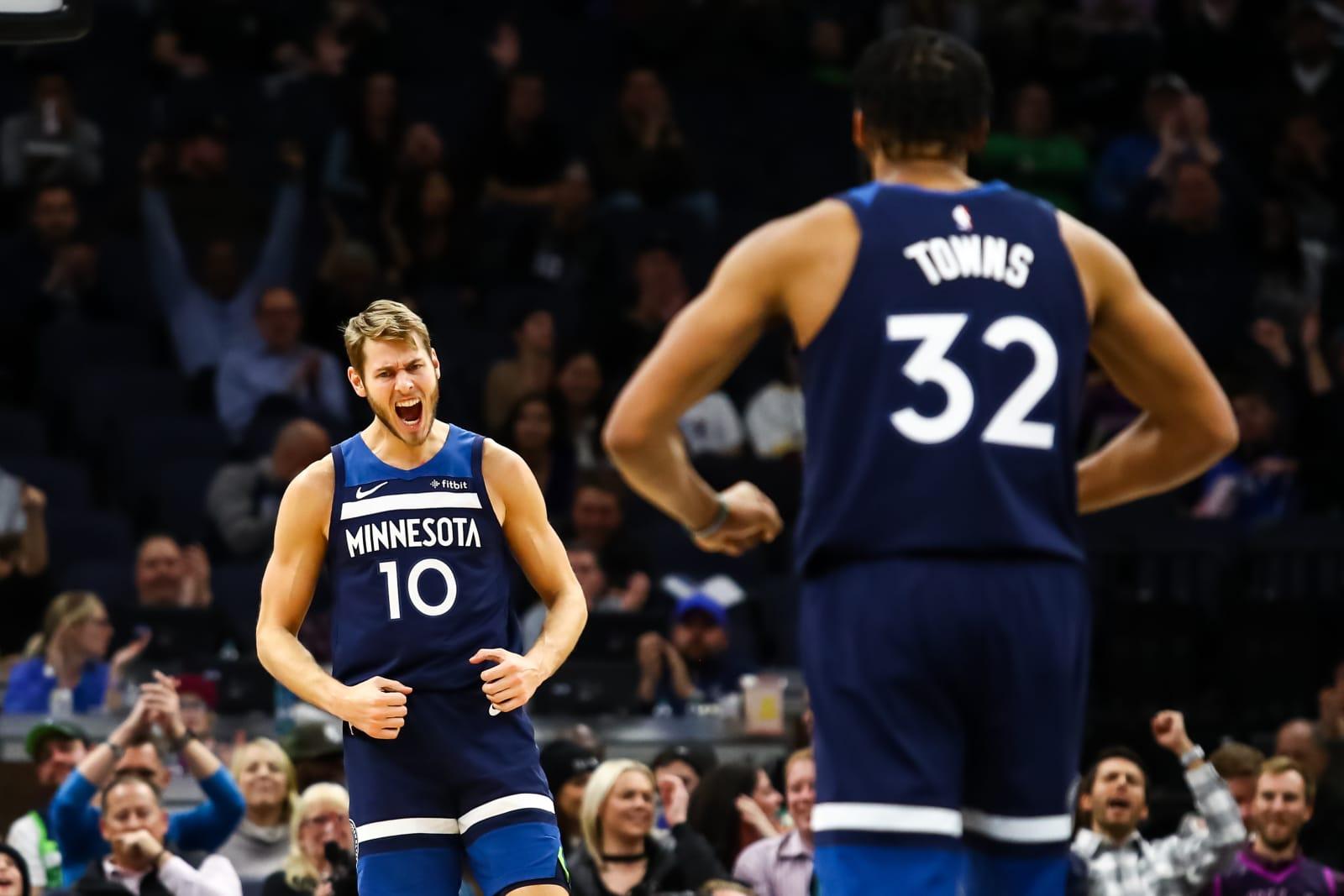 Minnesota Timberwolves, Karl-Anthony Towns, Jake Layman