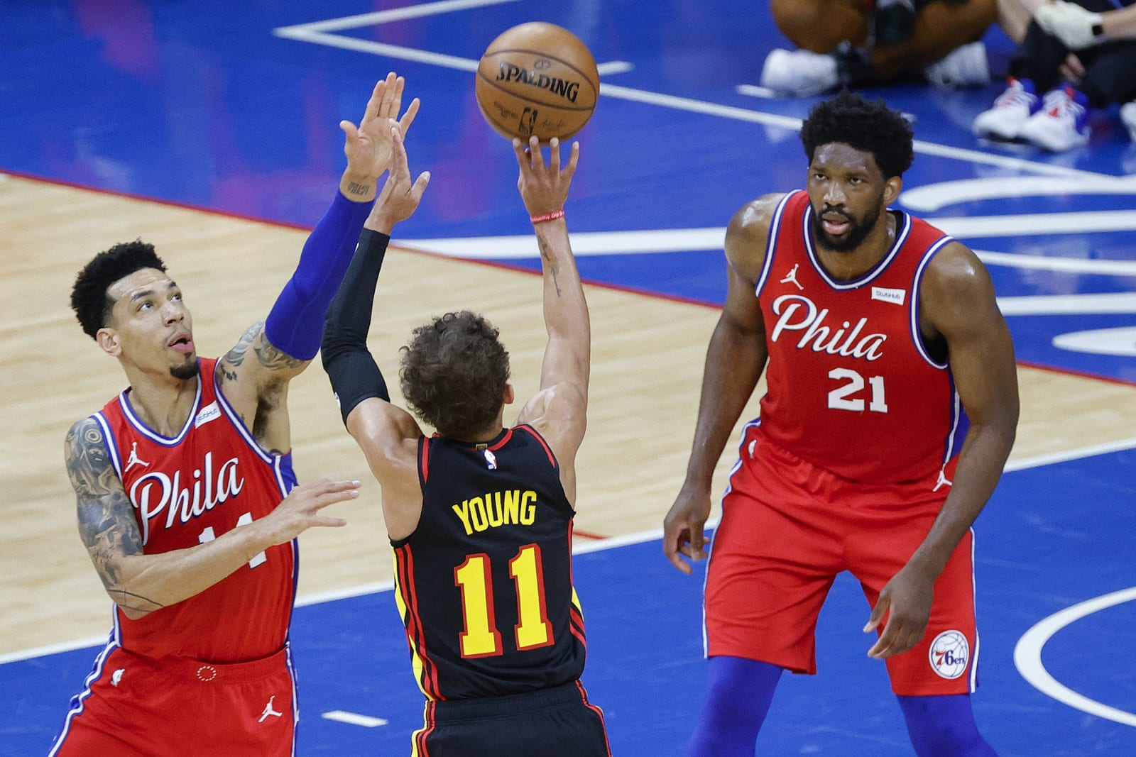 https%3A%2F%2Ffansided.com%2Fwp content%2Fuploads%2Fgetty images%2F2018%2F08%2F1322167576 1 3 improvements Philadelphia needs to make for Game 2 vs. Hawks