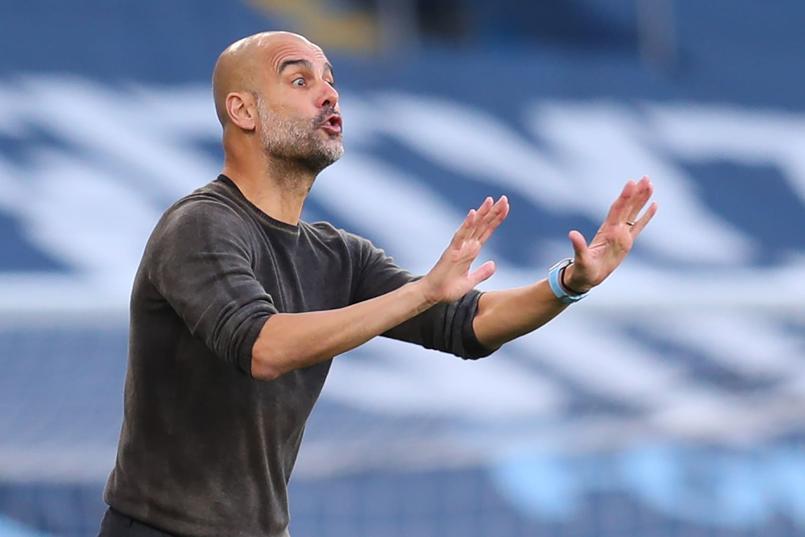 Pep Guardiola gives Leicester City no credit after heavy loss