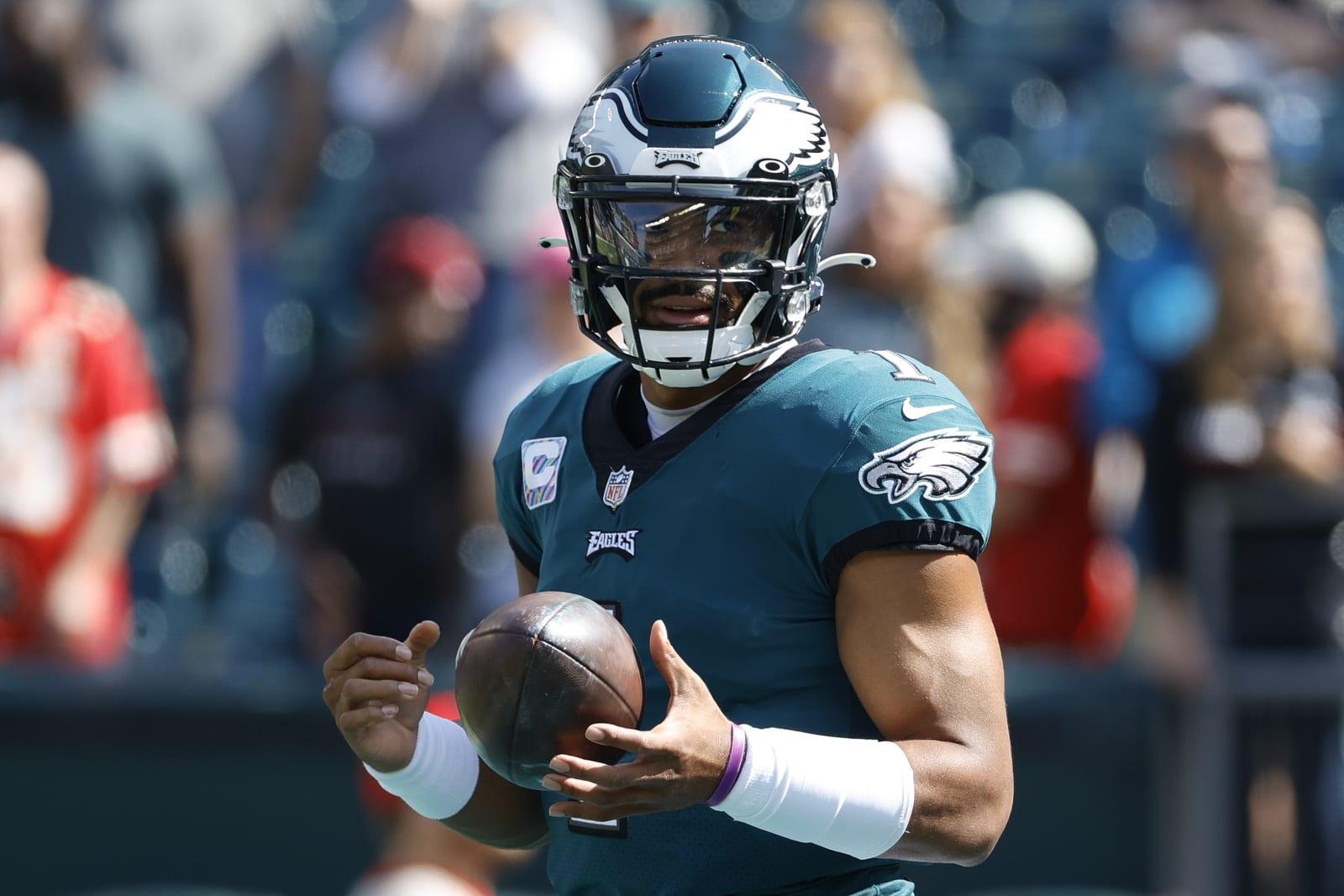 Jalen Hurts #1, Philadelphia Eagles