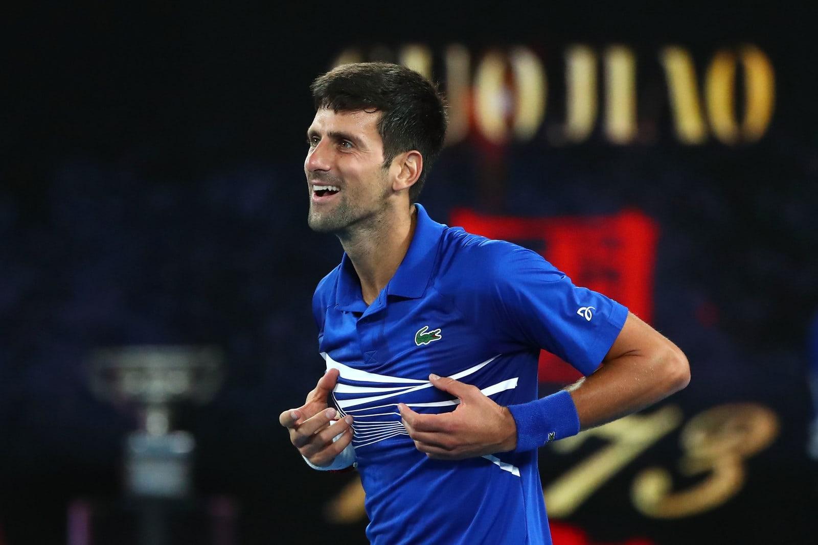 Novak Djokovic wins the Australian Open