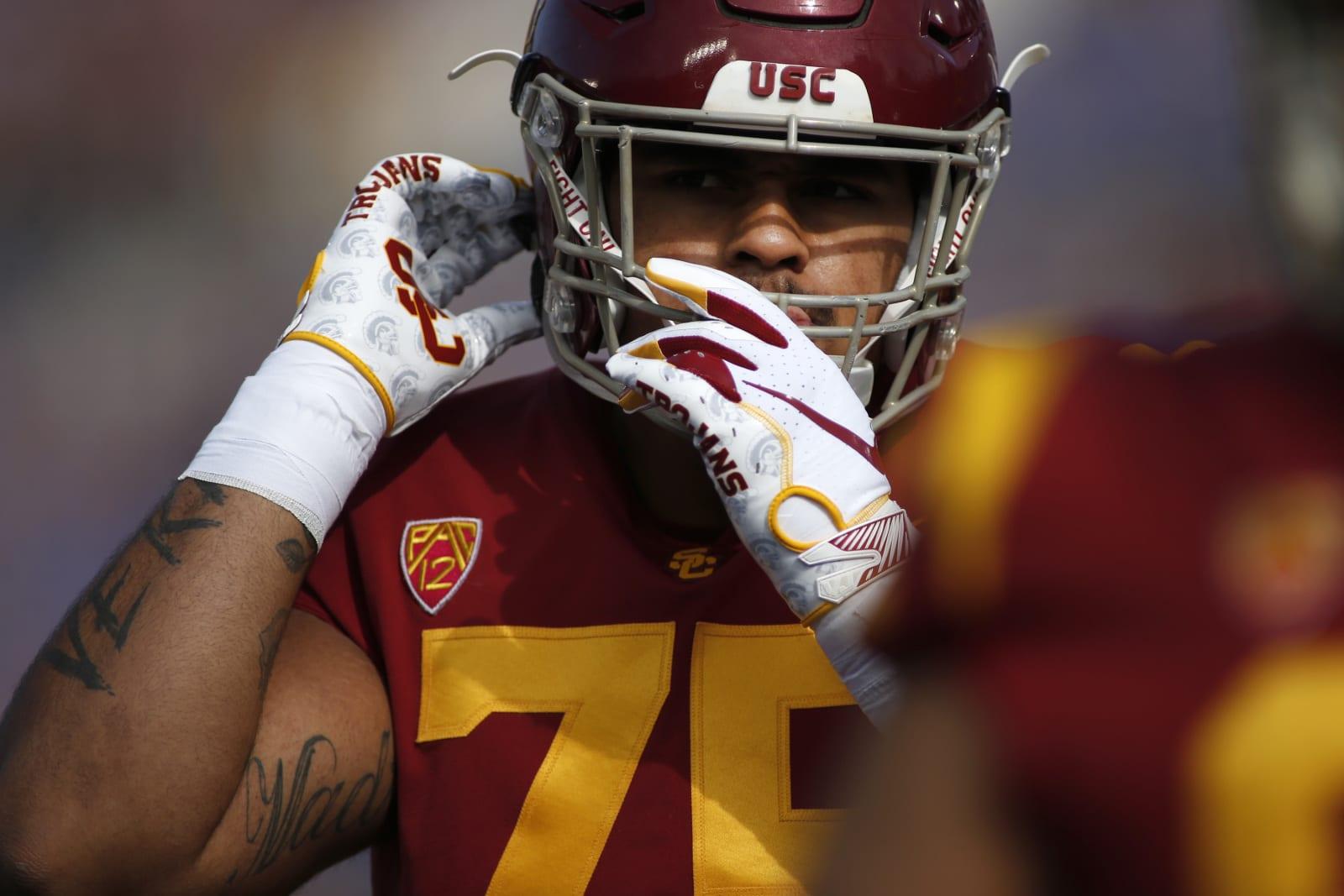 Alijah Vera-Tucker, 2021 NFL Draft, Chargers option