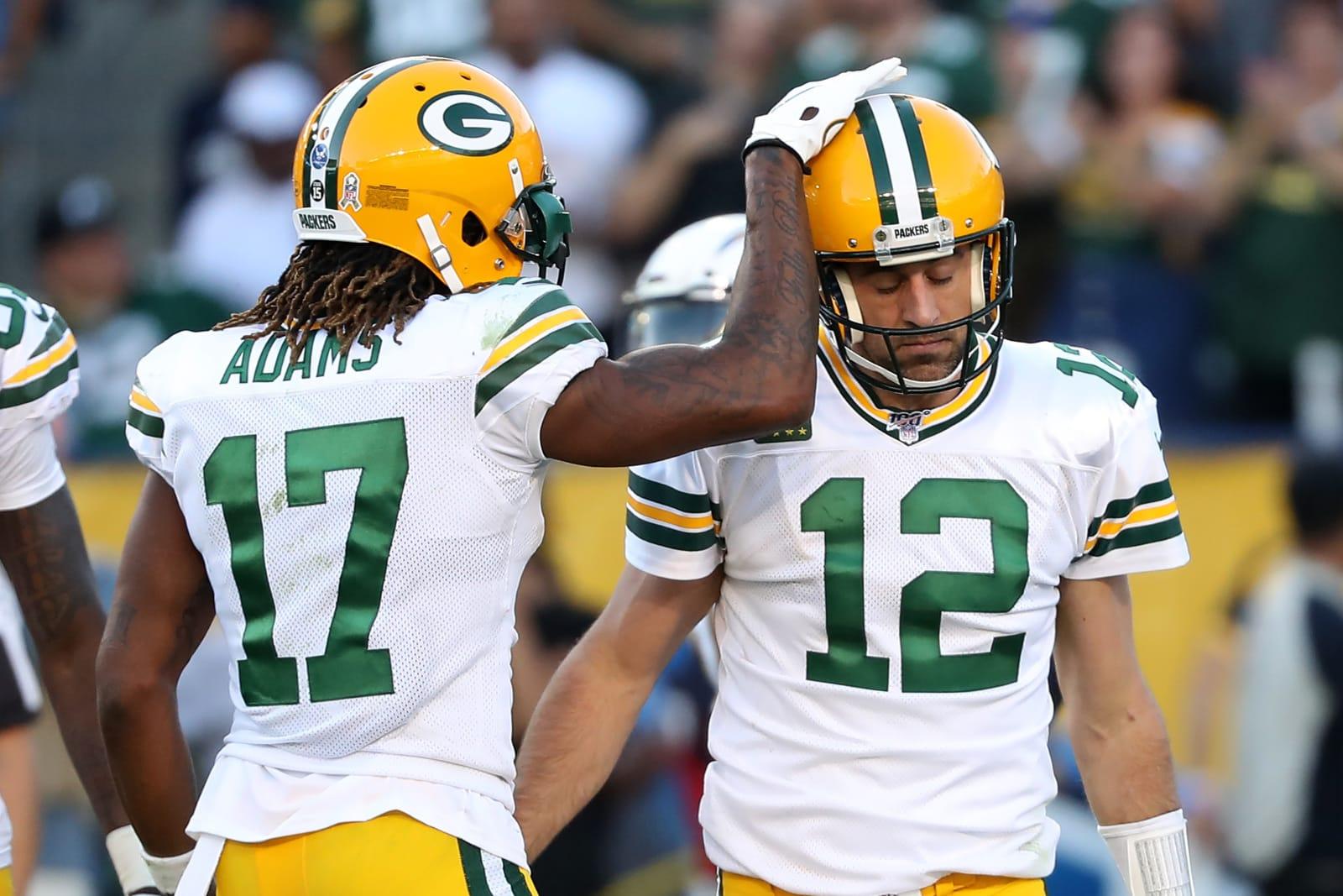 Green Bay Packers, Aaron Rodgers, Davante Adams