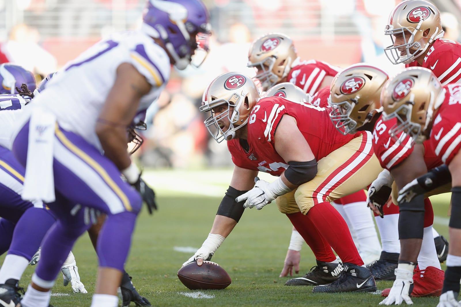 Ben Garland, 49ers, Vikings