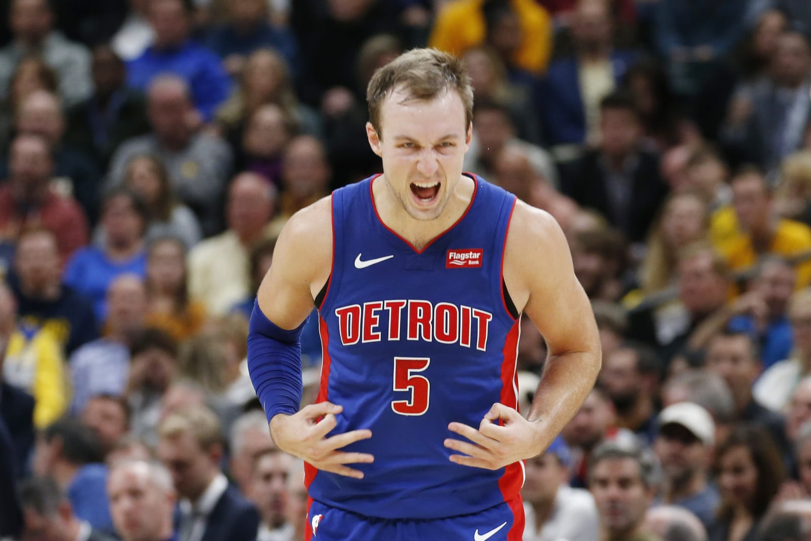 Detroit Pistons guard Luke Kennard