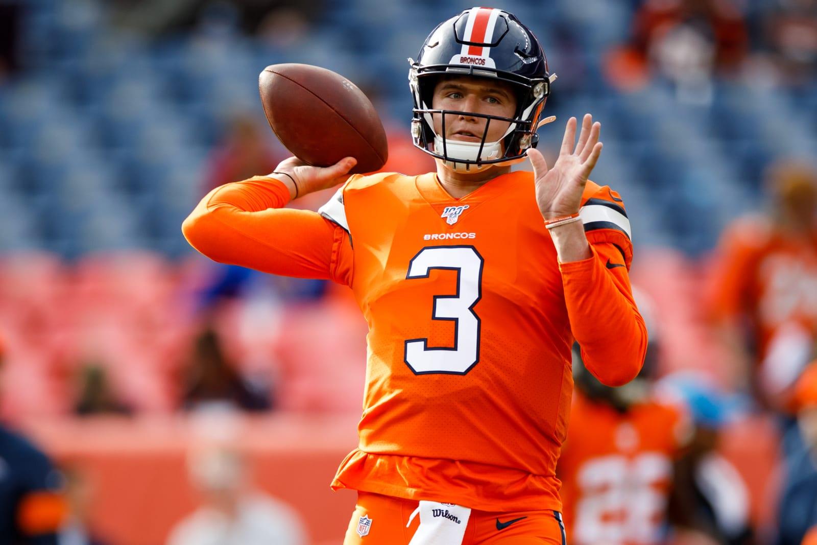 Denver Broncos QB Drew Locxk