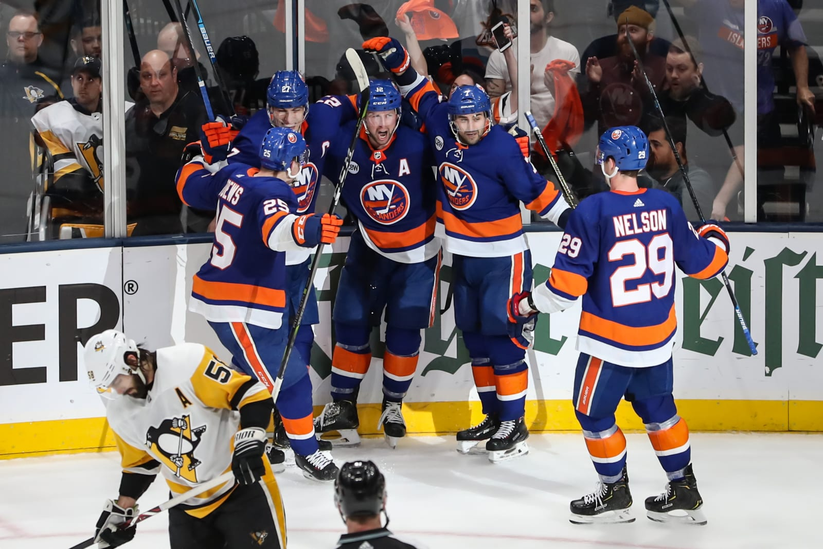 new york islanders pittsburgh penguins