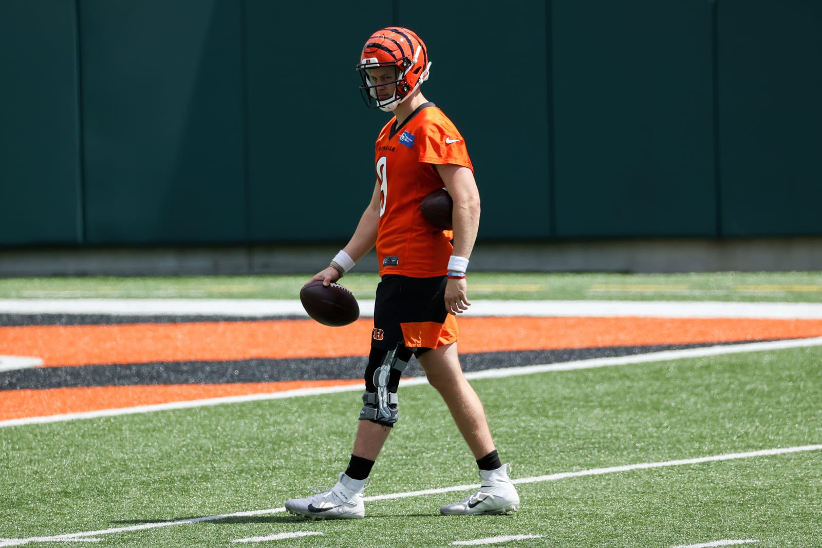 Joe Burrow #9, Cincinnati Bengals