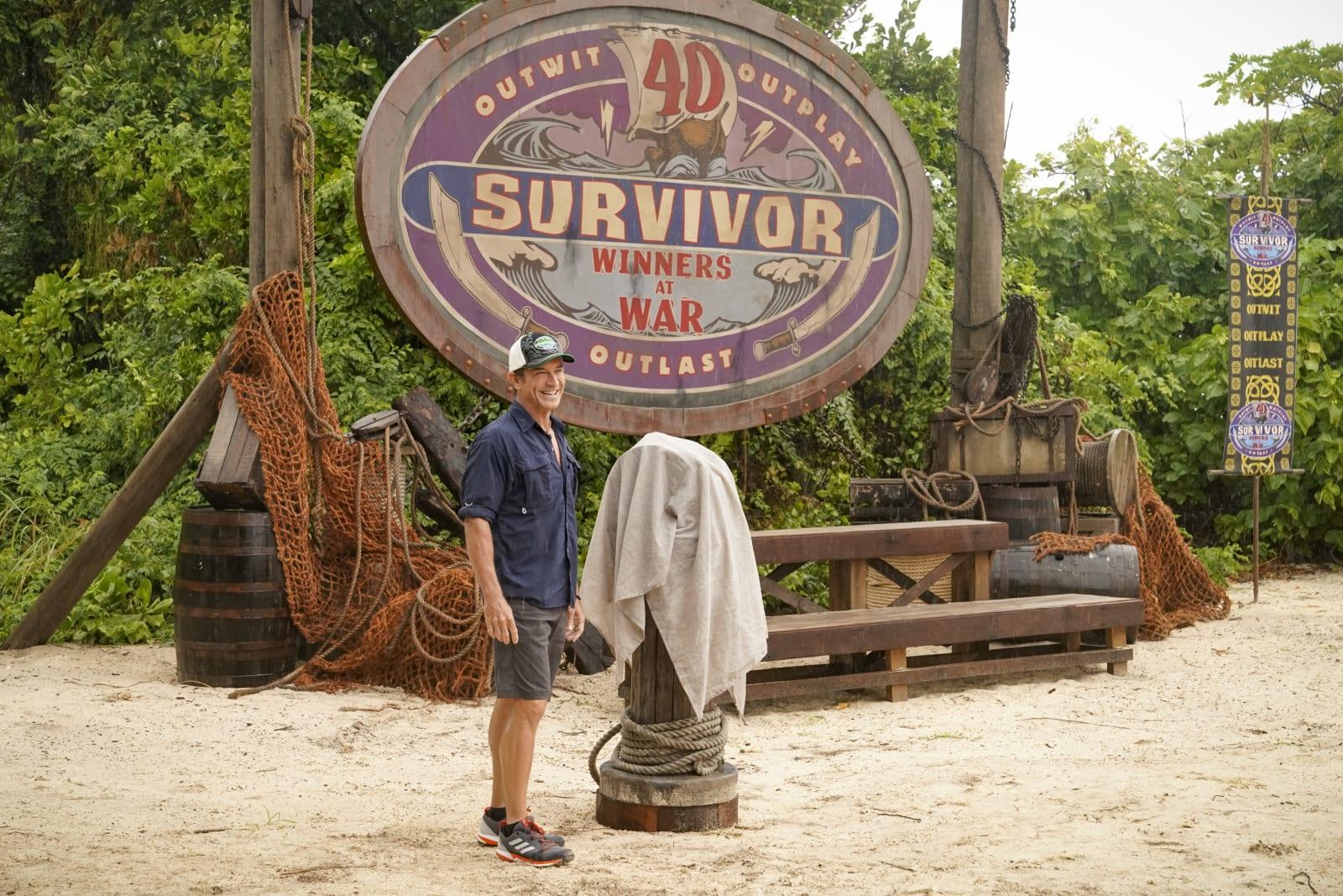 Jeff Probst Immunity Idol Survivor Winners at War episode 1