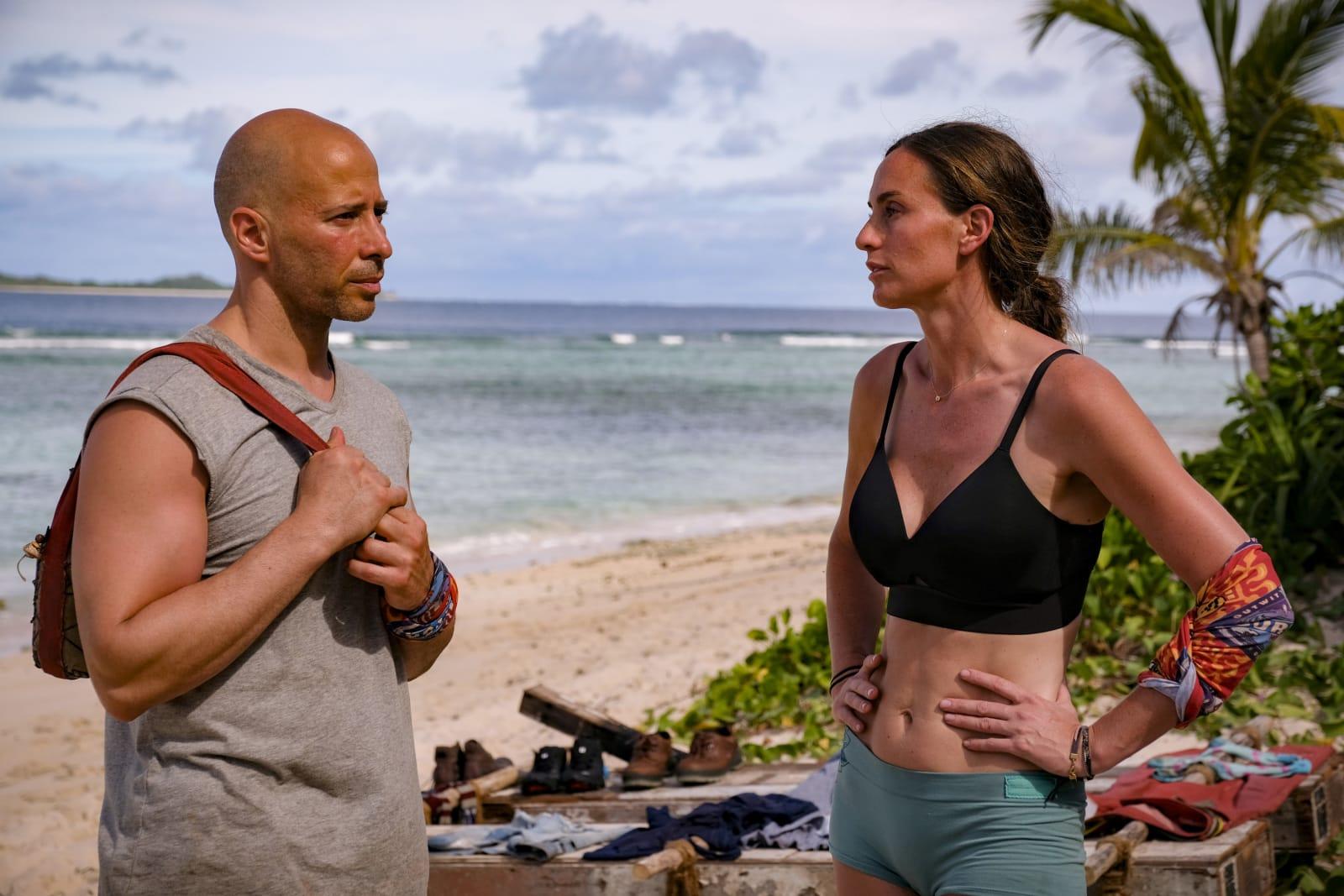 Tony Vlachos Kim Spradlin Survivor Winners at War episode 1