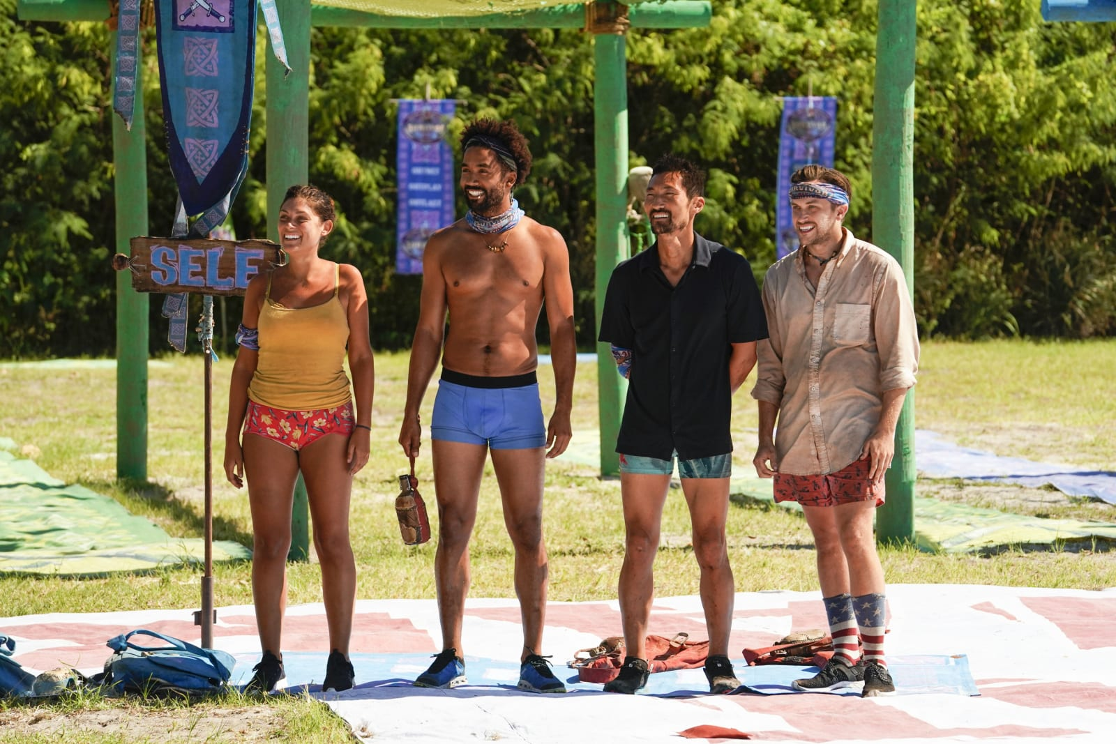 Sele tribe Survivor Winners at War episode 7
