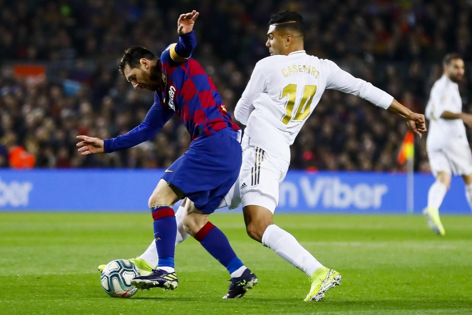 Casemiro of Real Madrid