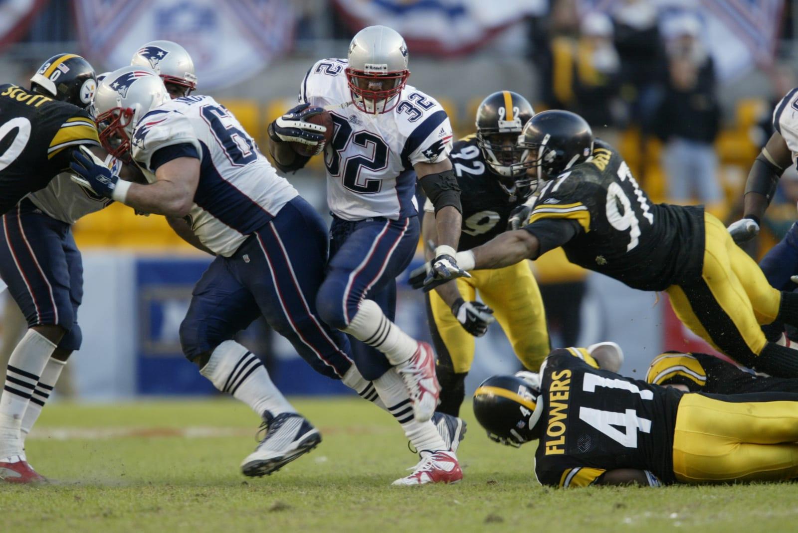 Antowain Smith, New England Patriots