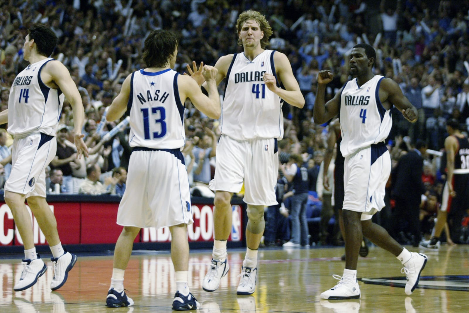 Dallas Mavericks, Dirk Nowitzki, Michael Finley, Steve Nash