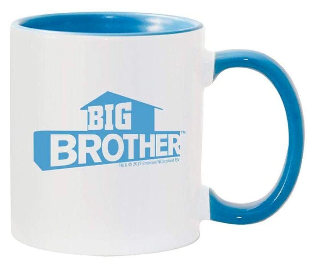Discover CBS's logo mug available on Amazon.