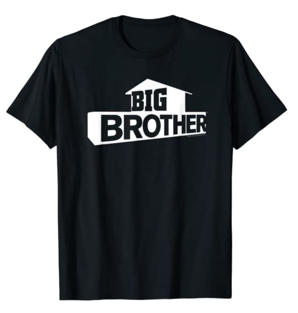 Discover CBS's 'Big Brother' logo t-shirt available on Amazon.