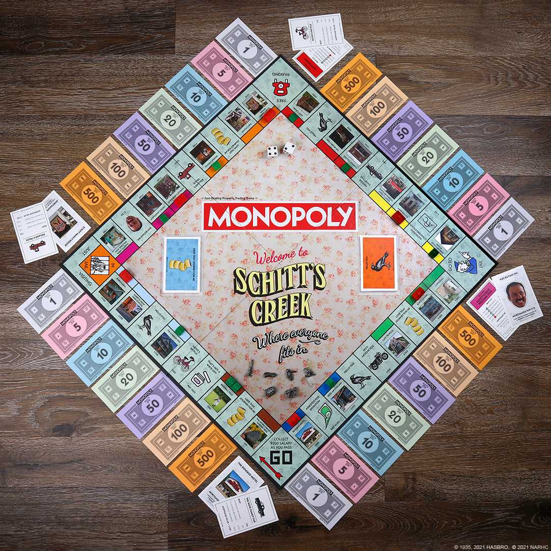 Discover the new 'Monopoly: Schitt's Creek' edition of the classic board game available at The Op.