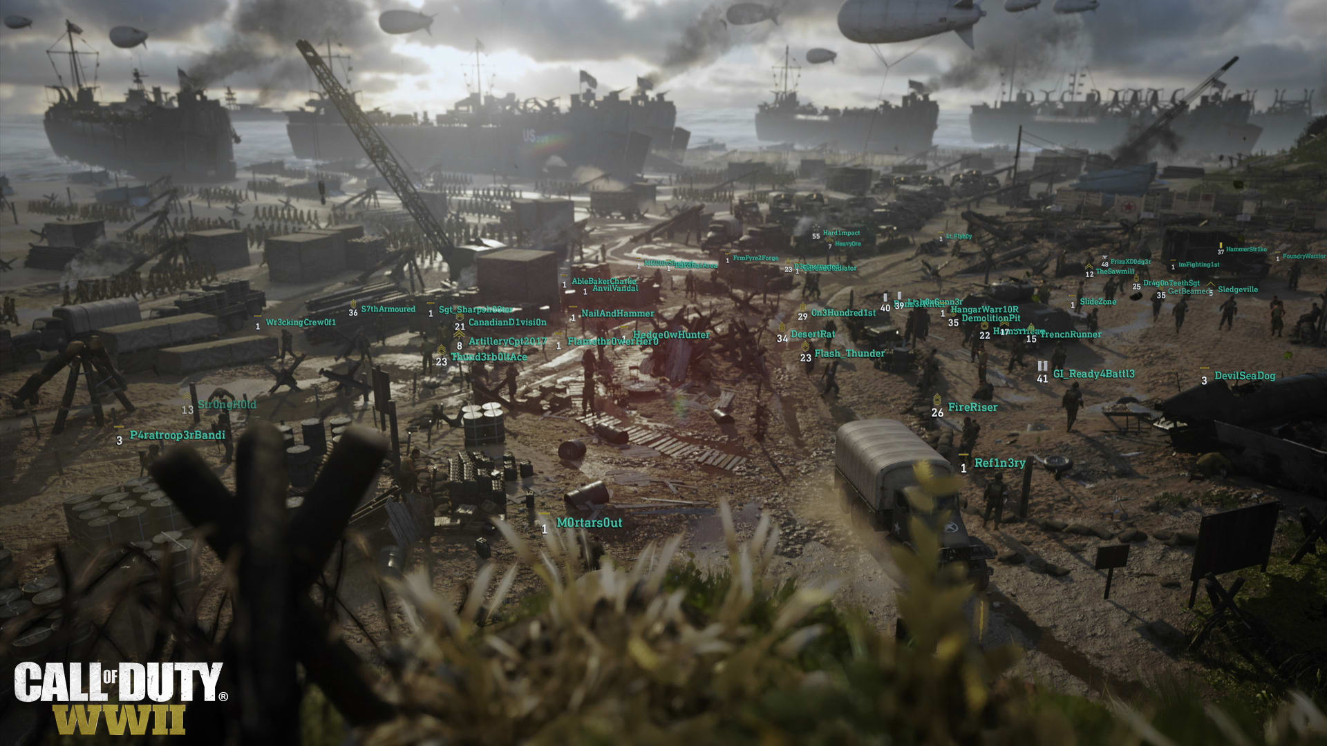 Call Of Duty Wwii Review Crazy Ain T The Half Of It