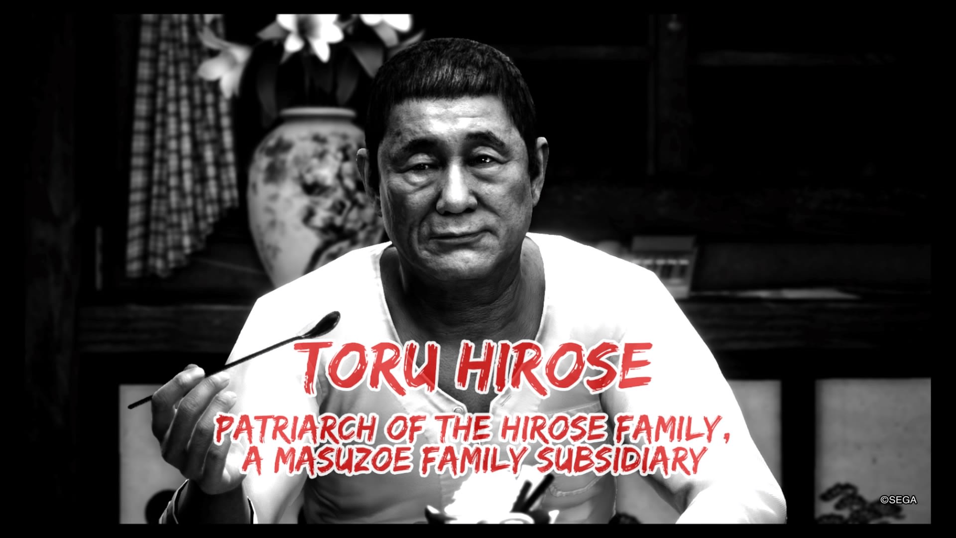 Yakuza 6 Beat Takeshi