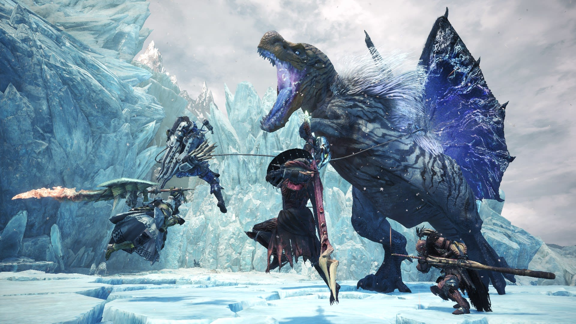 Monster Hunter World Iceborne Review Flight Of The Legiana