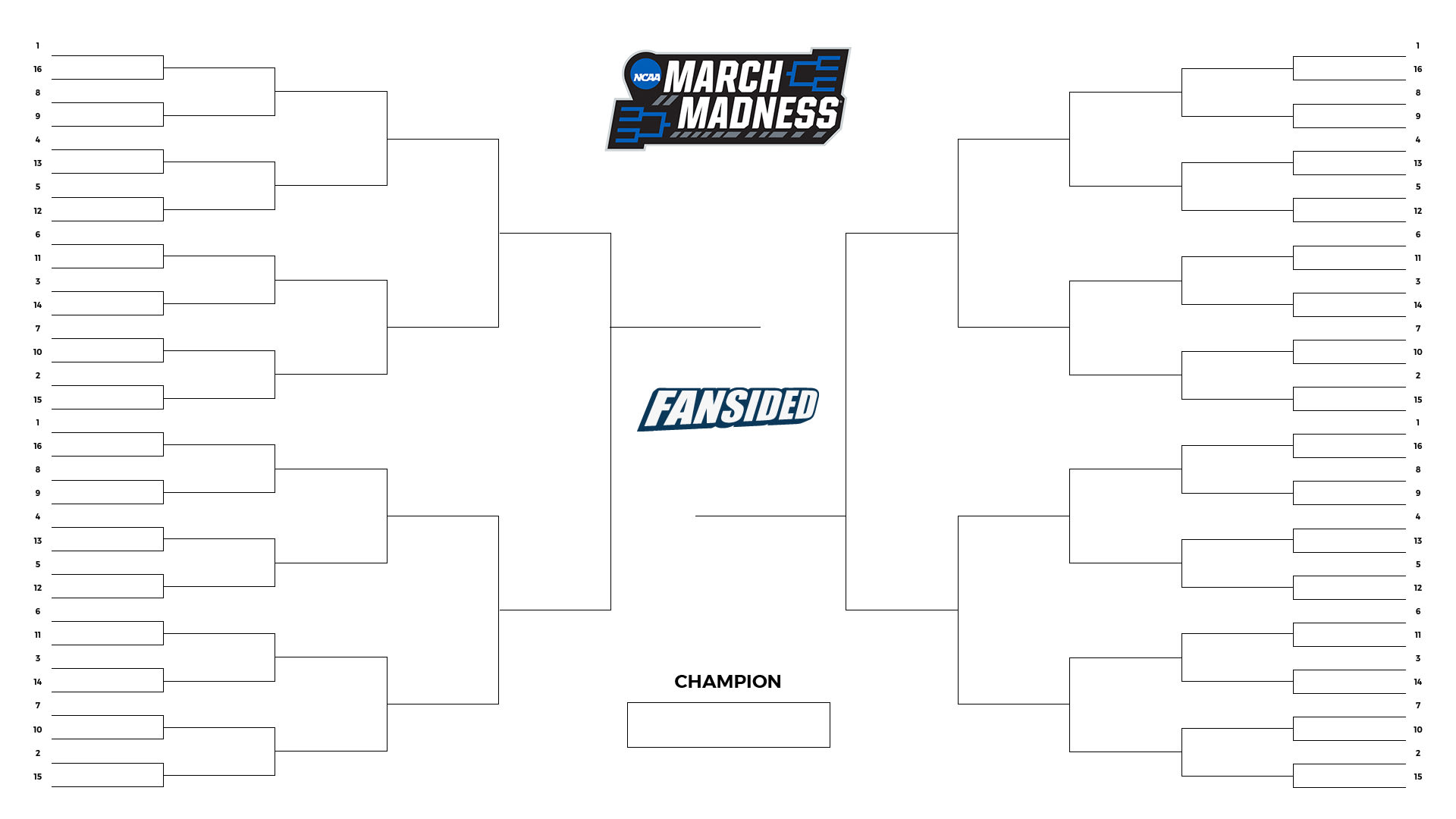 This is a photo of Priceless Printable March Madness 2020 Bracket