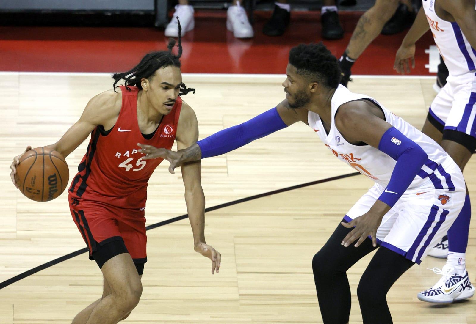 Dalano Banton, Toronto Raptors