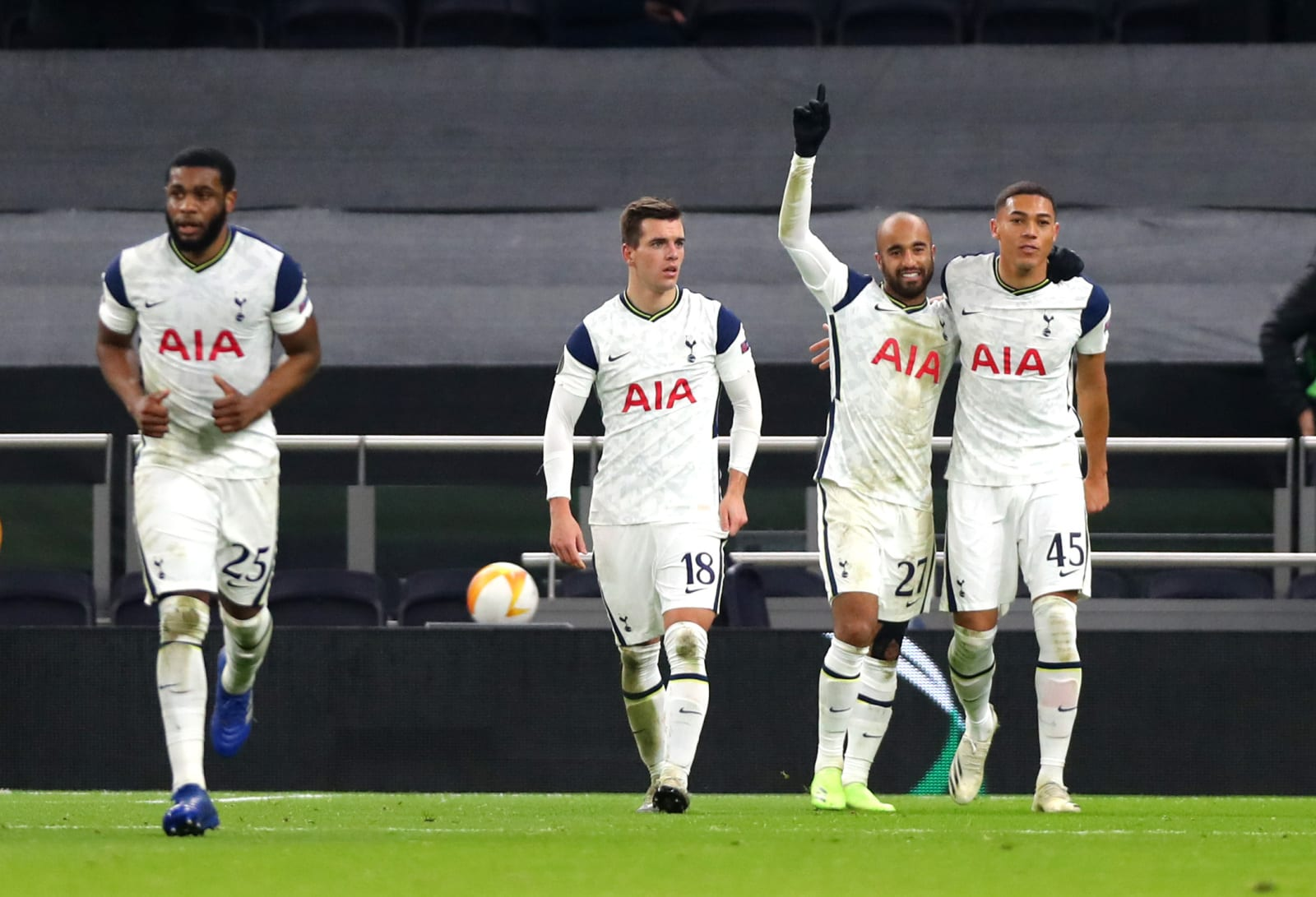 Tottenham Hotspur Player Ratings from Win Over Royal Antwerp