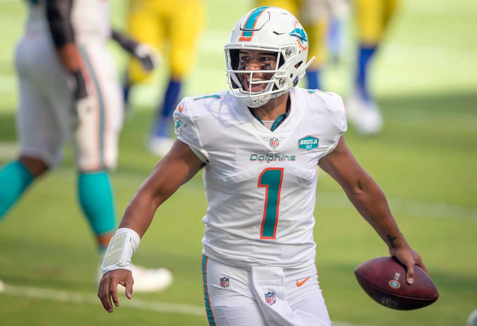 Miami Dolphins, Tua Tagovailoa, 2021 NFL Draft