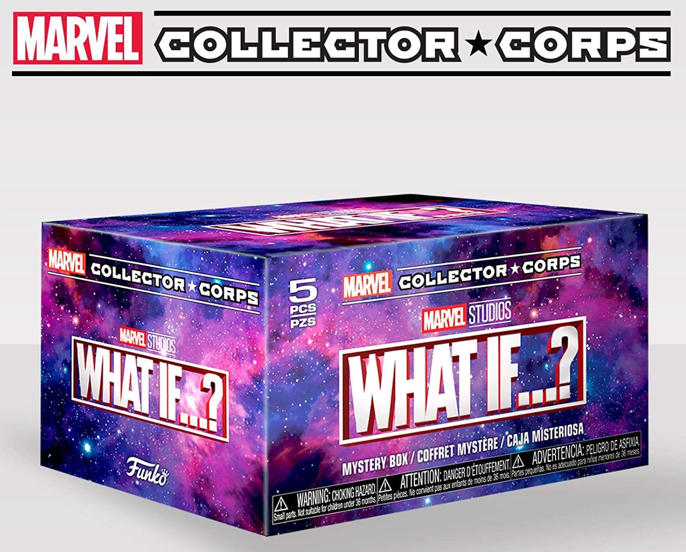 Discover Funko's Marvel Collector Corps subscription box on Amazon.