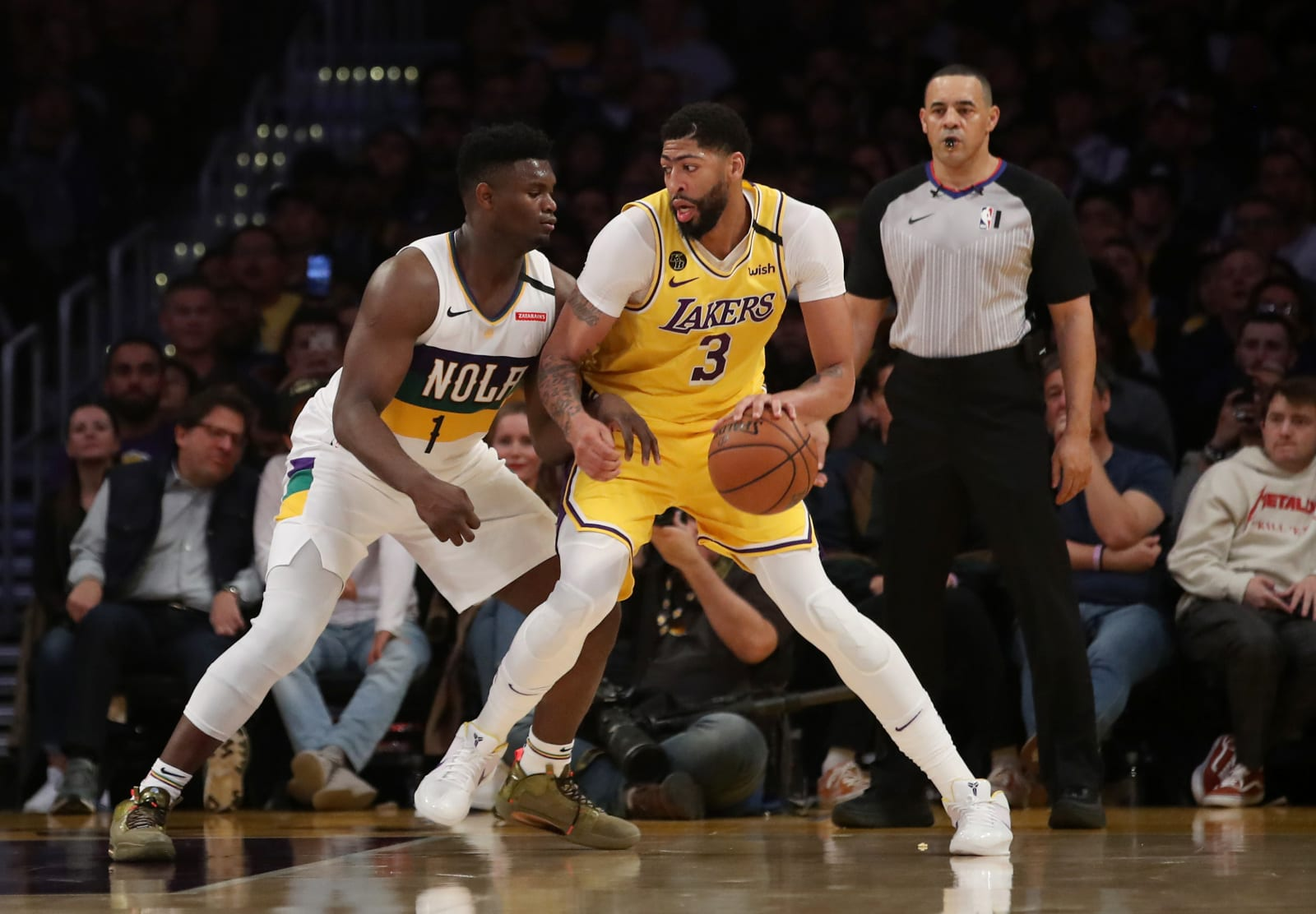 Los Angeles Lakers: Anthony Davis' top five games of 2019-20
