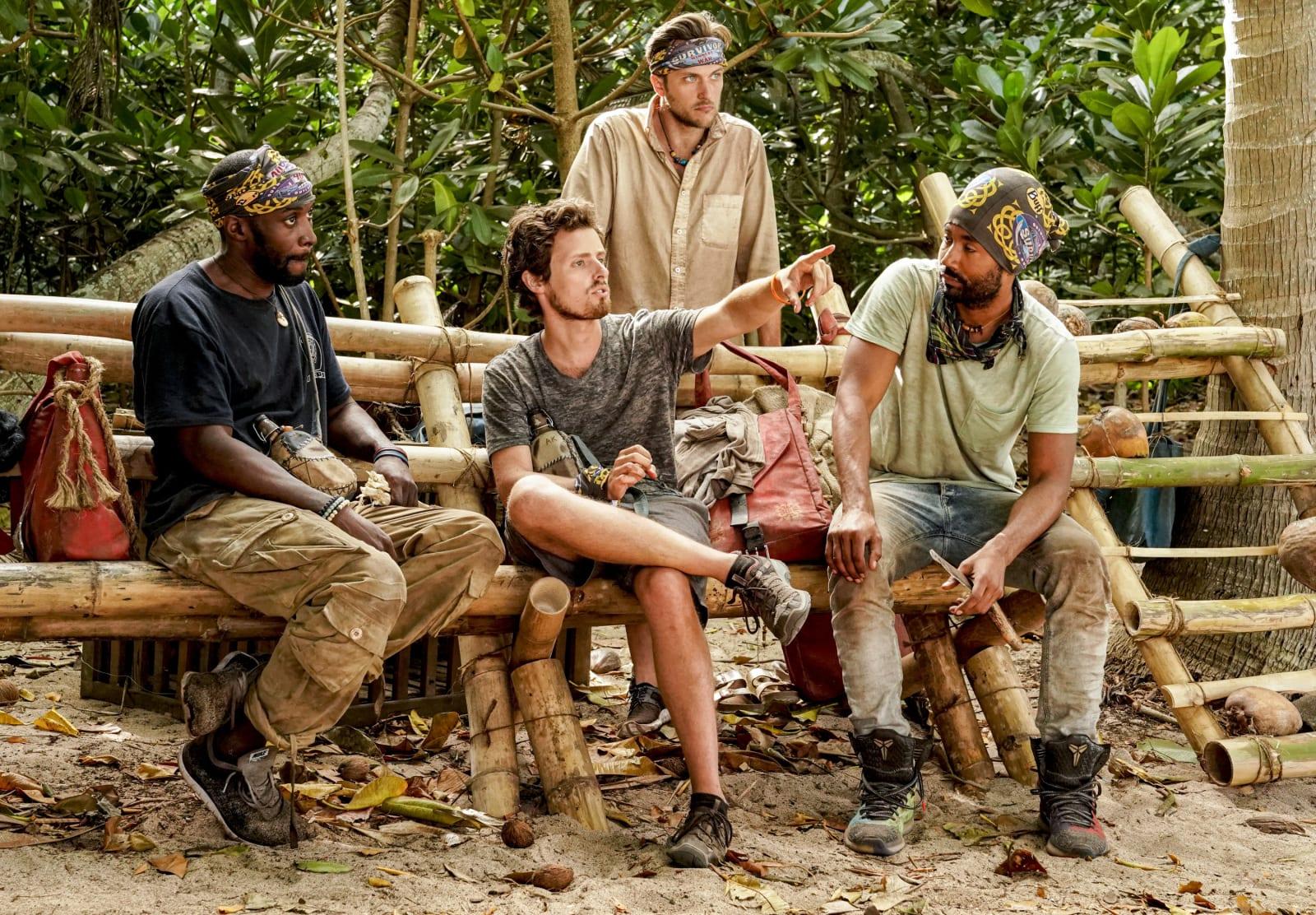 Jeremy Adam Nick Wendell Survivor Winners at War episode 8