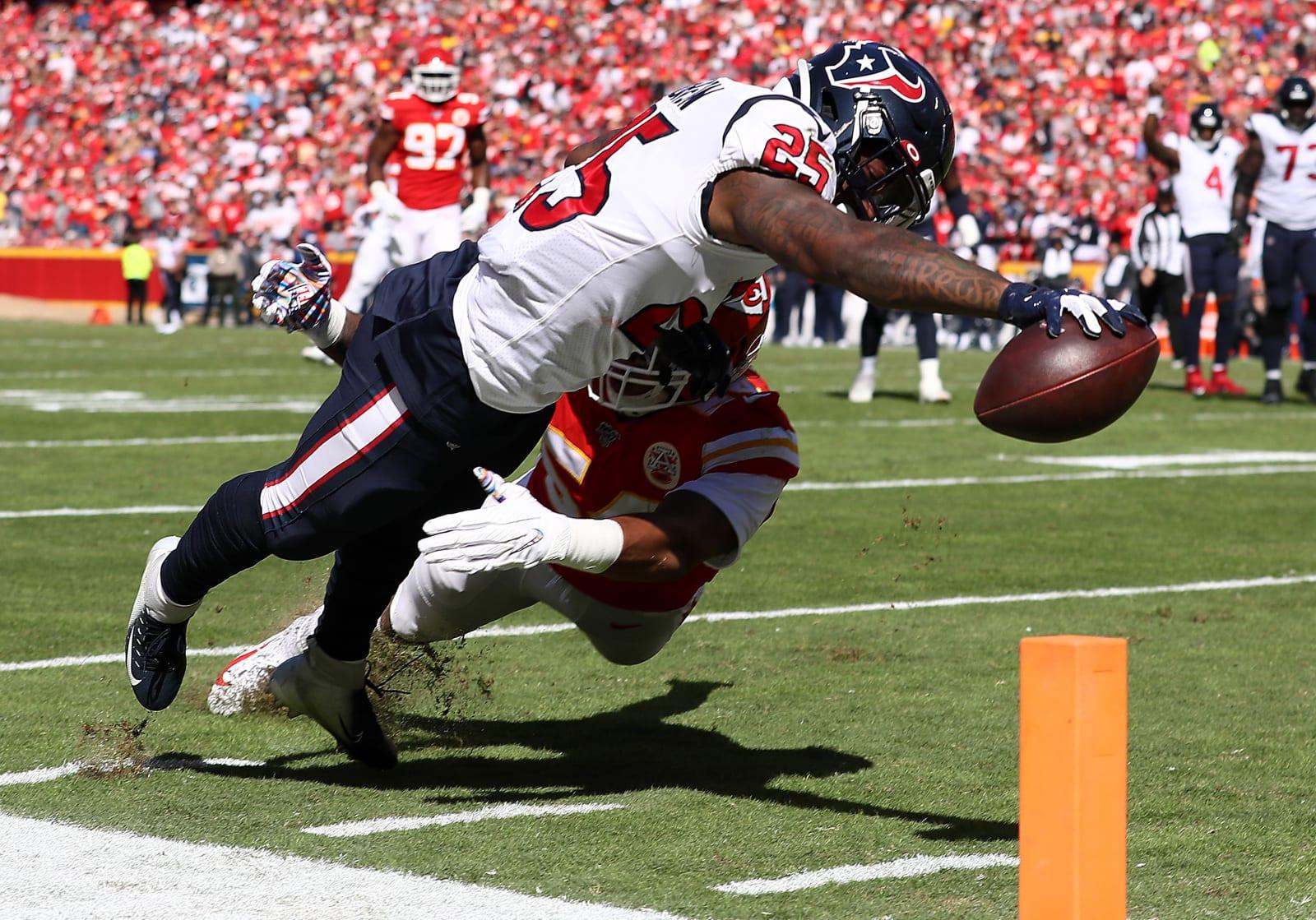 Duke Johnson, Houston Texans