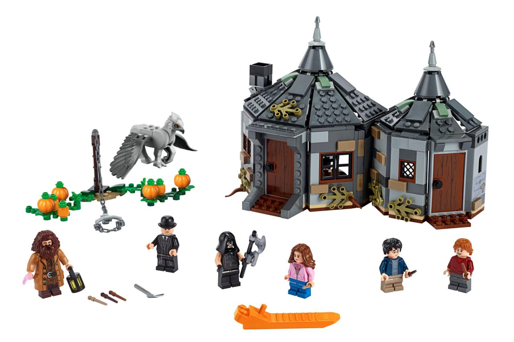 Discover the LEGO Harry Potter Hagrid's Hut: Buckbeak's Rescue set available at LEGO.