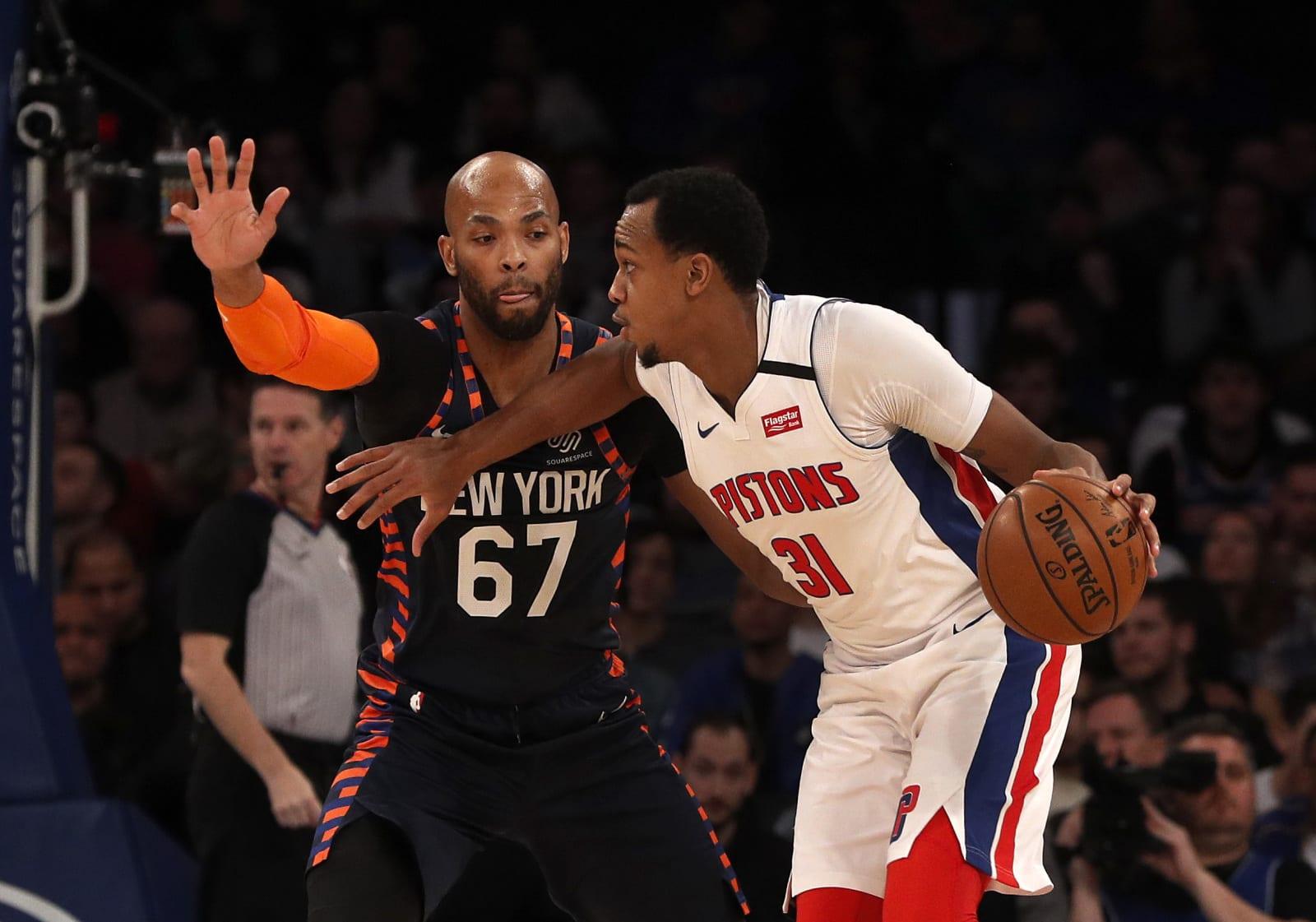 John Henson, Norvel Pelle, NY Knicks