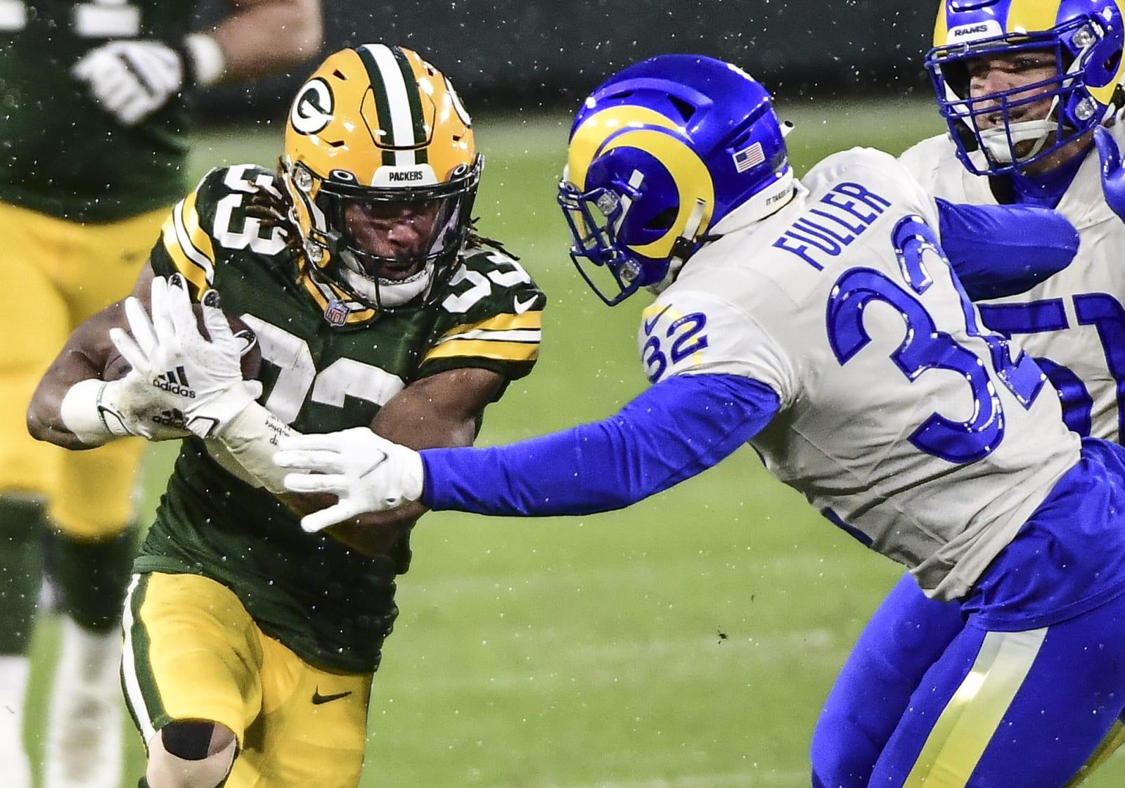 Green Bay Packers, Aaron Jones